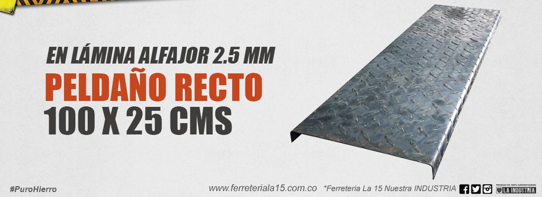 Slide-Peldaño-recto100x25-